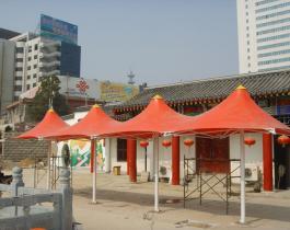 膜结构景观伞工程案例