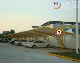 河北晋州食品加工厂停车棚