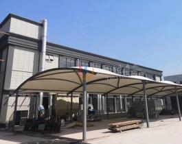 石家庄汽车改装厂膜结构棚
