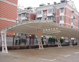 膜结构七字型停车棚-004