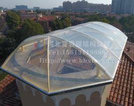 透明膜 别墅屋顶加盖