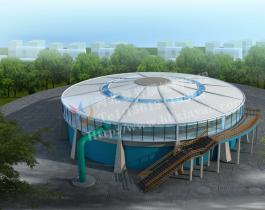 膜结构污水池加盖-002