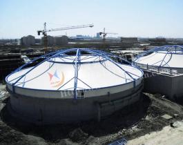 膜结构污水池加盖-003
