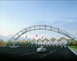 膜结构交通设施-002